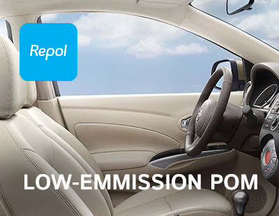 REPOL DEVELOPS A NEW LOW-EMMISSION POM FOR APPLICATION IN VEHICLE INTERIORS