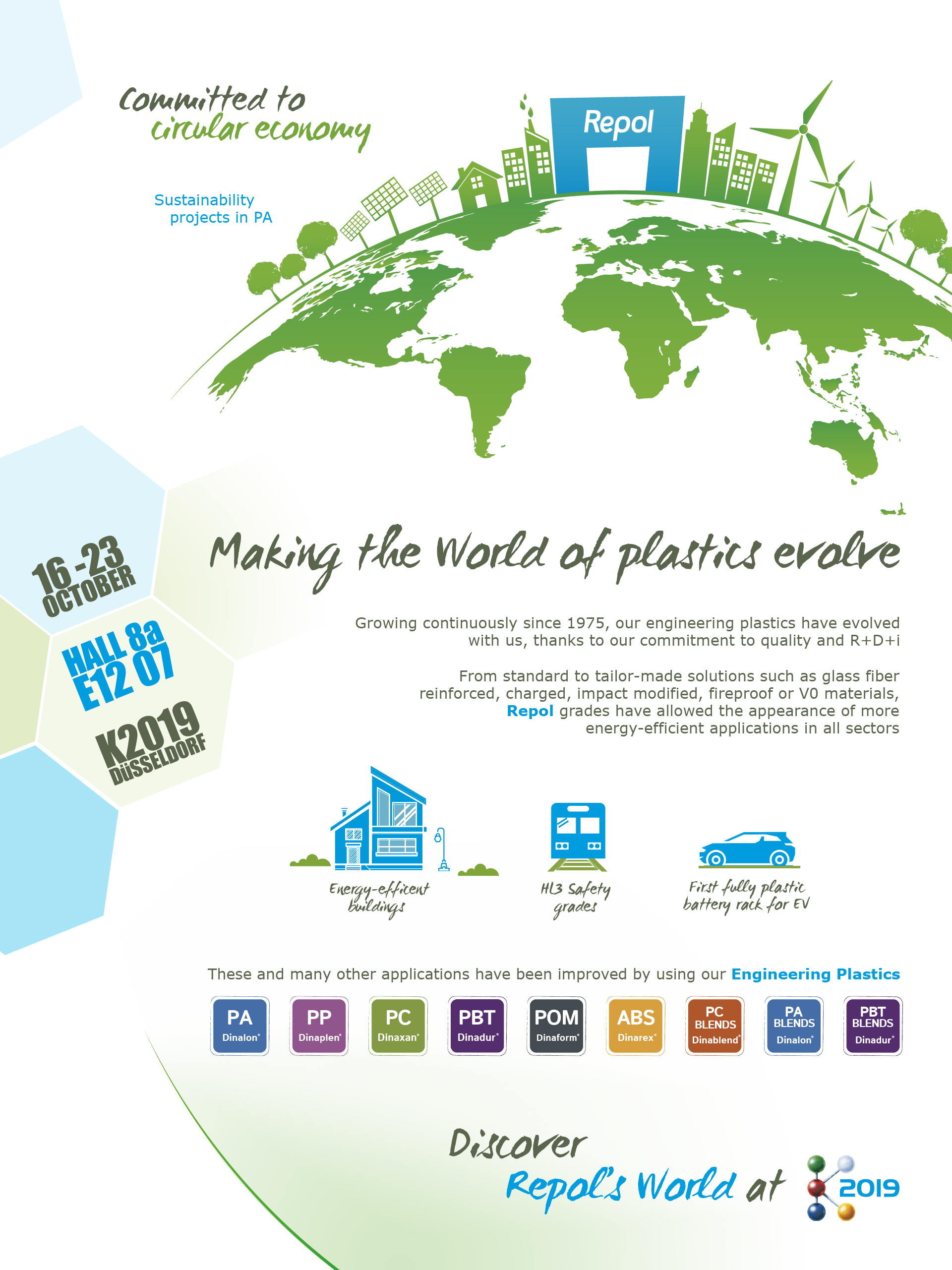 Making the World of plastics evolve - Repol - Committed to circular economy