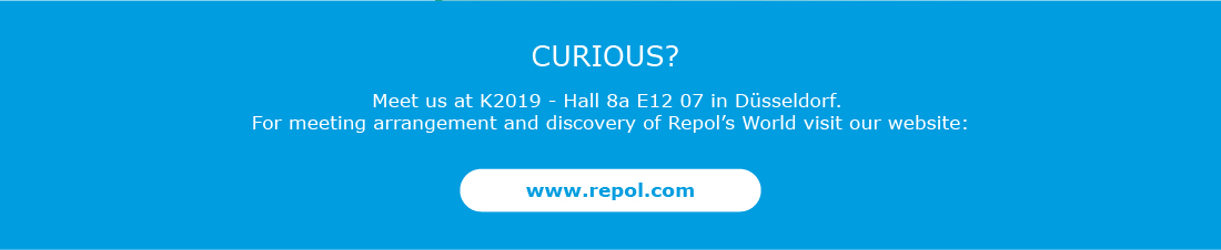 Meet us at Hall 8a E12 07. For meeting arrangement and discovery of Repol�s World visit our website